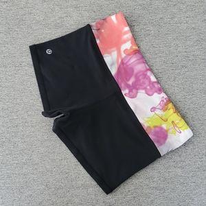 Lululemon Reversible Swirl Color Band Shorts